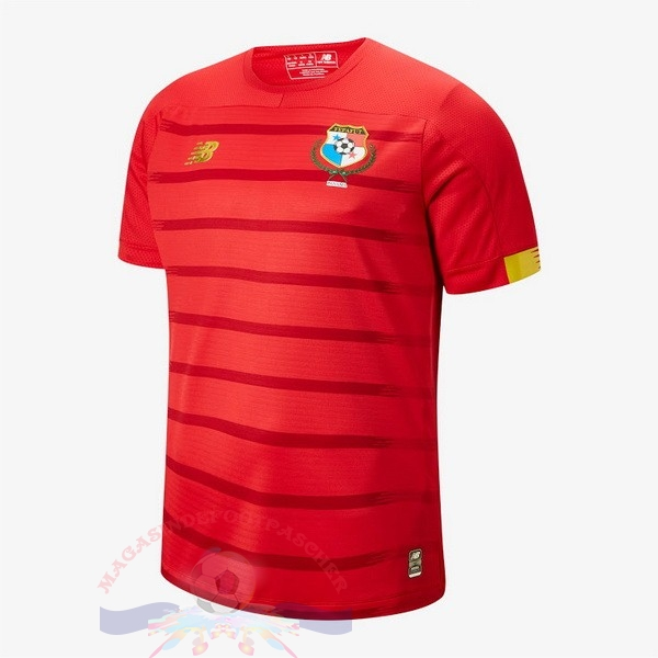 Magasin Foot New Balance Domicile Maillot Panamá 2019 Rouge