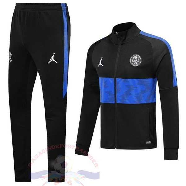 Magasin Foot JORDAN Survêtements Paris Saint Germain 2019 2020 Bleu Noir