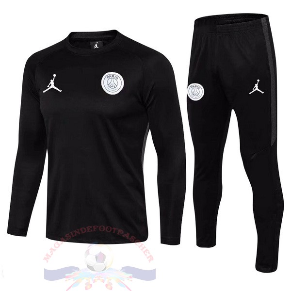 Magasin Foot Jordan Survêtements Enfant Paris Saint Germain 2018 2019 Blanc Noir Marine