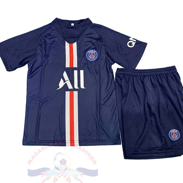 Magasin Foot Nike DomiChili Conjunto De Enfant Paris Saint Germain 2019 2020 Noir