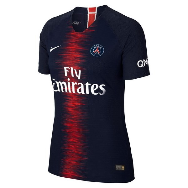 Magasin Foot Nike Domicile Maillots Femme Paris Saint Germain 2018 2019 Bleu
