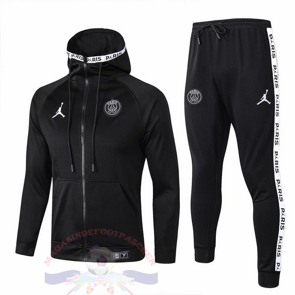 Magasin Foot Jordan Survêtements Enfant Paris Saint Germain 2019 2020 Noir