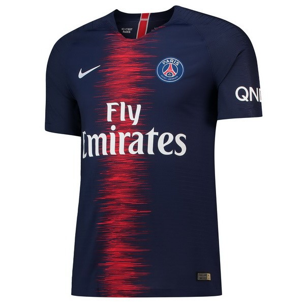 Magasin Foot Nike Domicile Maillots Paris Saint Germain 2018 2019 Bleu