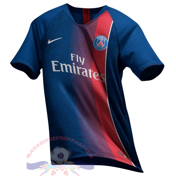 Magasin Foot Nike Thailande Domicile Maillots Paris Saint Germain 19-20 Bleu