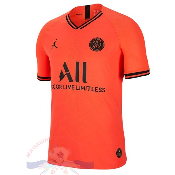Magasin Foot Jordan Exterieur Maillot Paris Saint Germain 2019 2020 Orange