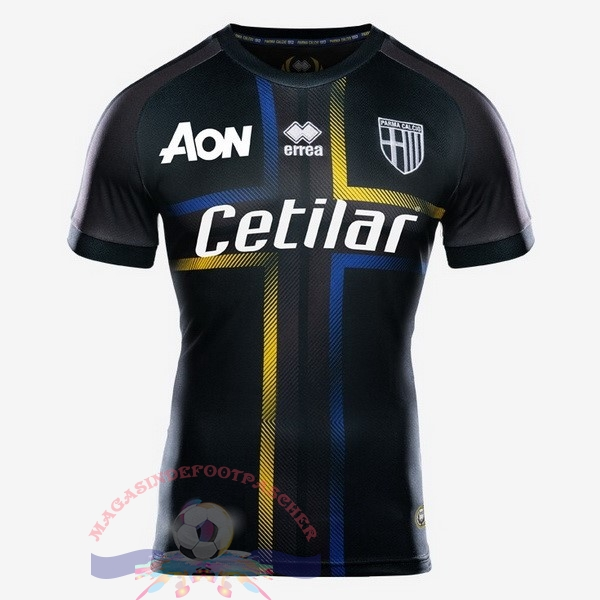 Magasin Foot errea Third Maillots Parme 2018-2019 Noir