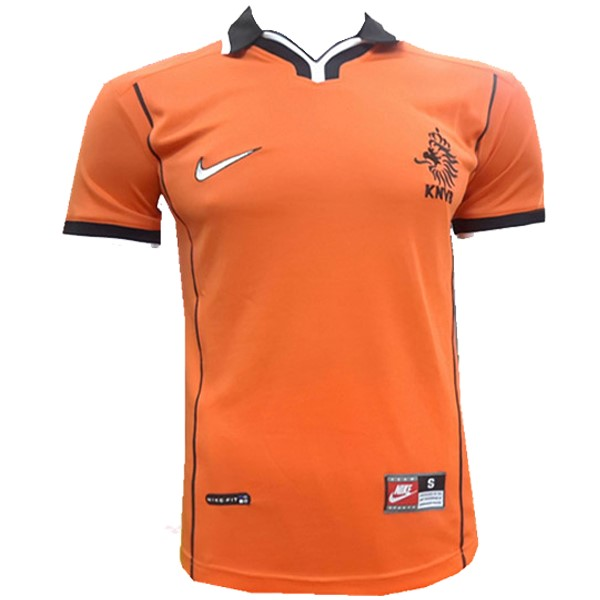 Magasin Foot Nike Domicile Maillots Pays Bas Rétro 1998 Orange