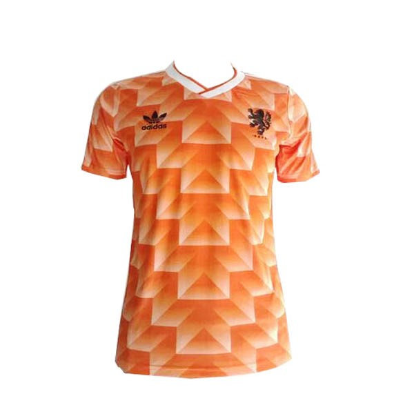 Magasin Foot adidas Domicile Maillots Pays Bas Rétro 1988 Orange