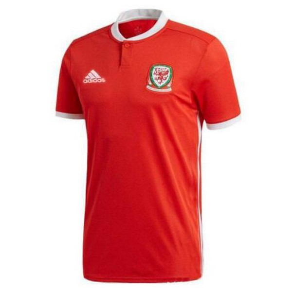 Magasin Foot adidas Domicile Maillots Pays de Galles 2018 Rouge