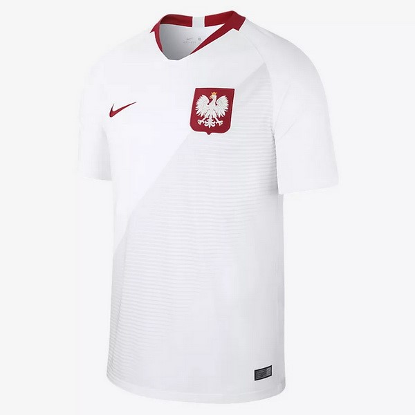Magasin Foot Nike Domicile Maillots Pologne 2018 Blanc