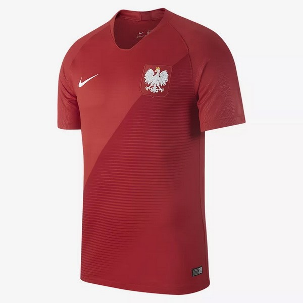 Magasin Foot Nike Exterieur Maillots Pologne 2018 Rouge