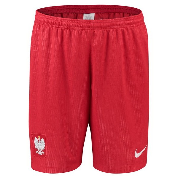 Magasin Foot Nike Exterieur Shorts Pologne 2018 Rouge