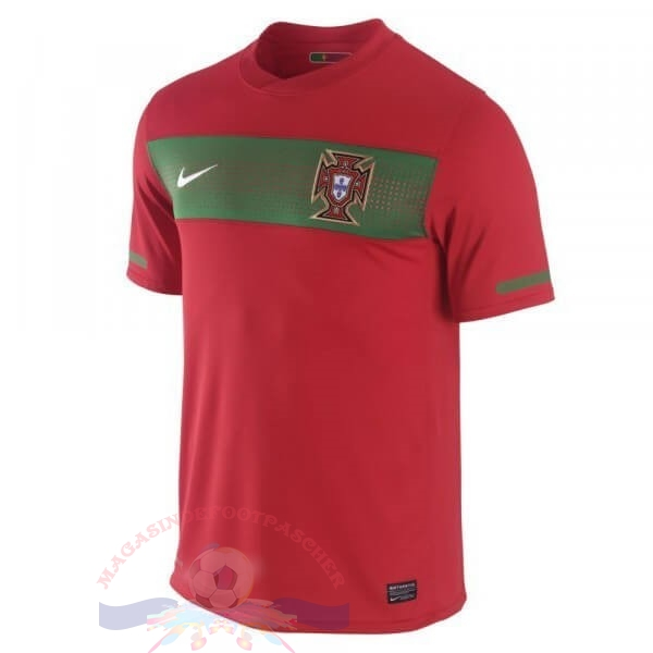 Magasin Foot Nike Domicile Maillot Portugal Rétro 1990 Rouge