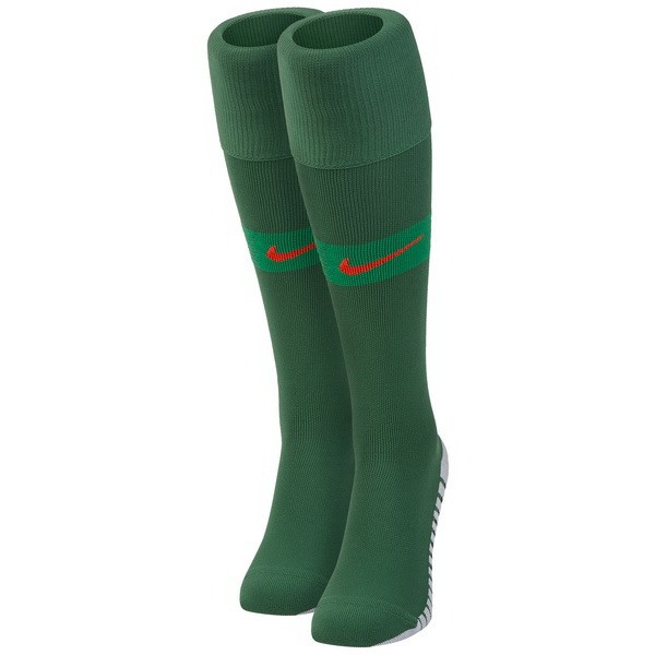 Magasin Foot Nike Domicile Chaussettes Portugal 2018 Vert