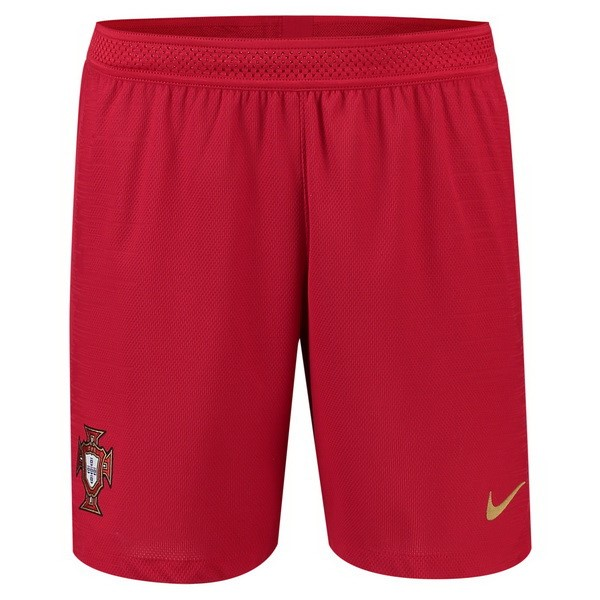 Magasin Foot Nike Domicile Shorts Portugal 2018 Rouge
