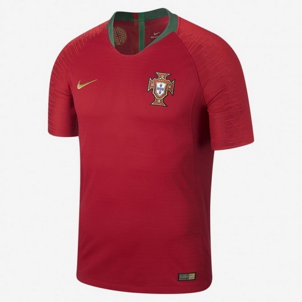 Magasin Foot Nike Thailande Domicile Maillots Portugal 2018 Rouge