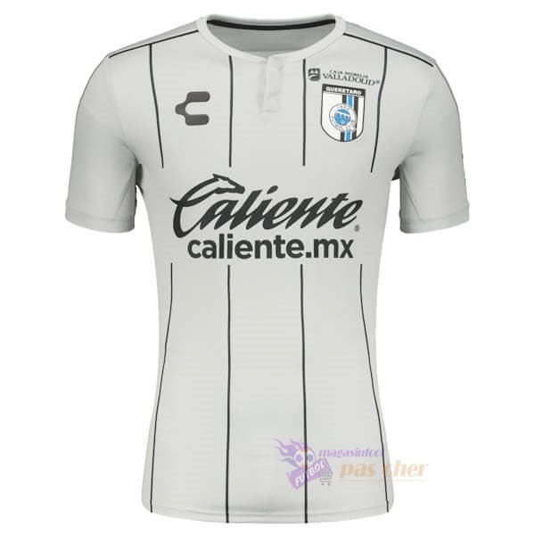 Magasin Foot Tenis Charly Exterieur Maillot Querétaro 2020 2021 Blanc