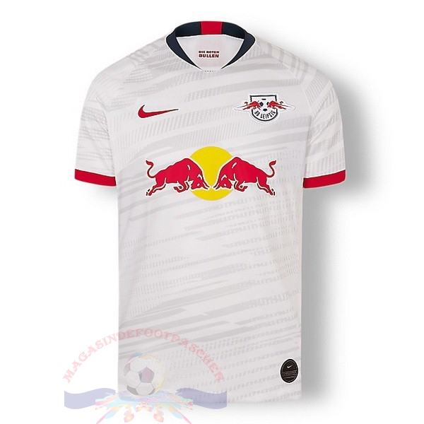 Magasin Foot Nike Domicile Maillot Leipzig 2019 2020 Blanc