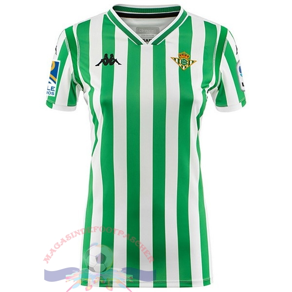 Magasin Foot Kappa Domicile Maillots Femme Real Betis 2018-2019 Vert