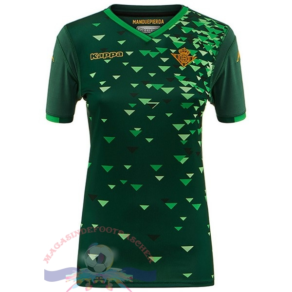 Magasin Foot Kappa Exterieur Maillots Femme Real Betis 2018-2019 Vert