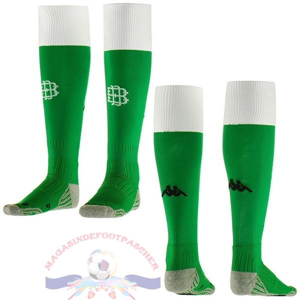 Magasin Foot Kappa Domicile Chaussettes Real Betis 2018-2019 Vert
