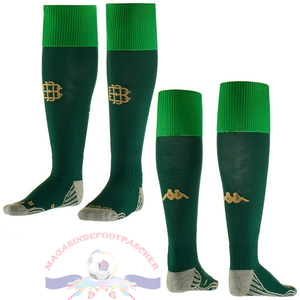 Magasin Foot Kappa Exterieur Chaussettes Real Betis 2018-2019 Vert