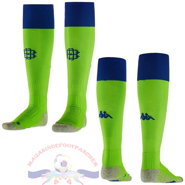 Magasin Foot Kappa Third Chaussettes Real Betis 2018-2019 Vert