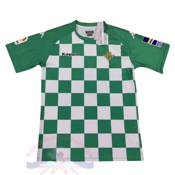 Magasin Foot Kappa Édition commémorative Maillot Real Betis 2019 2020 Vert