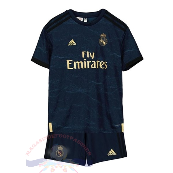 Magasin Foot adidas Exterieur Ensemble Enfant Real Madrid 2019 2020 Bleu
