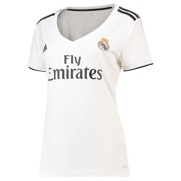 Magasin Foot adidas Domicile Maillots Femme Real Madrid 2018 2019 Blanc