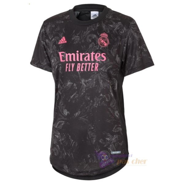 Magasin Foot adidas Third Maillot Femme Real Madrid 2020 2021 Noir