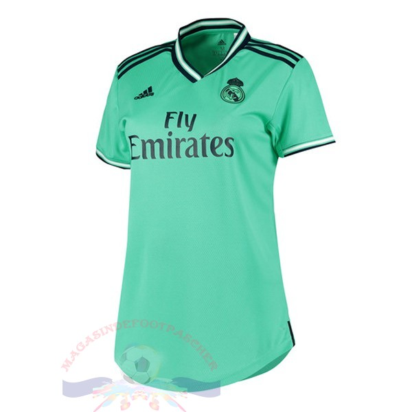 Magasin Foot adidas Third Maillot Femme Real Madrid 2019 2020 Vert