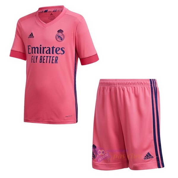 Magasin Foot adidas Exterieur Conjunto De Enfant Real Madrid 2020 2021 Rose