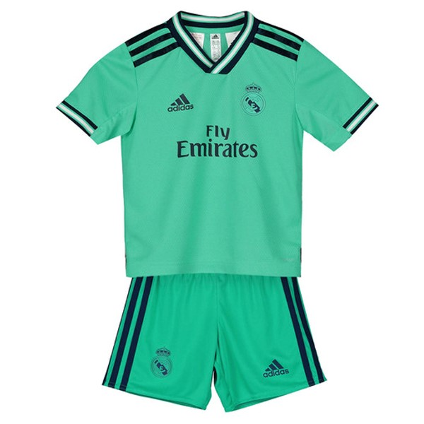Magasin Foot adidas Third Ensemble Enfant Real Madrid 2019 2020 Vert