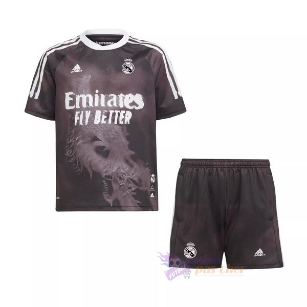 Magasin Foot adidas Human Race Conjunto De Enfant Real Madrid 2020 2021 Noir