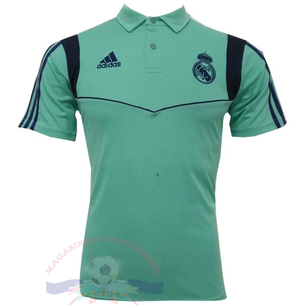 Magasin Foot adidas Polo Real Madrid 2019 2020 Vert