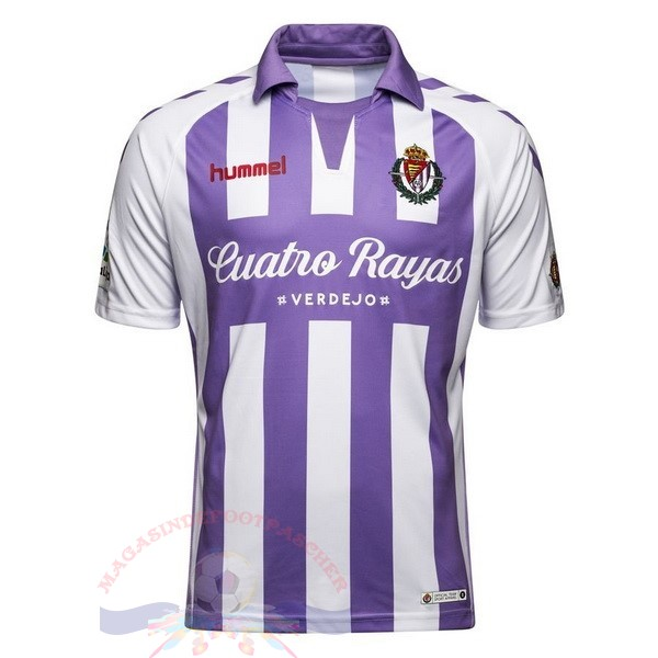 Magasin Foot Hummel DomiChili Maillot Real Valladolid 2018 2019 Purpura