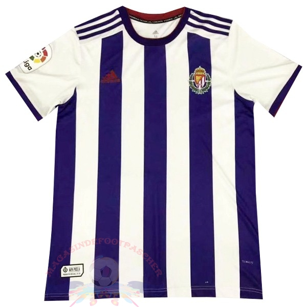Magasin Foot adidas Domicile Maillot Real Valladolid 2019 2020 Purpura