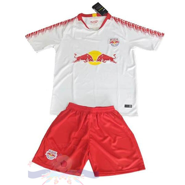 Magasin Foot Adidas DomiChili Conjunto De Enfant Red Bulls 2019 2020 Blanc