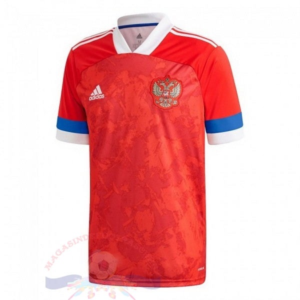 Magasin Foot adidas Thailande Domicile Maillot Russie 2020 Rouge