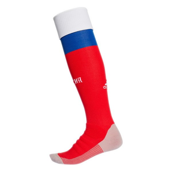 Magasin Foot adidas Domicile Chaussettes Russie 2018 Rouge