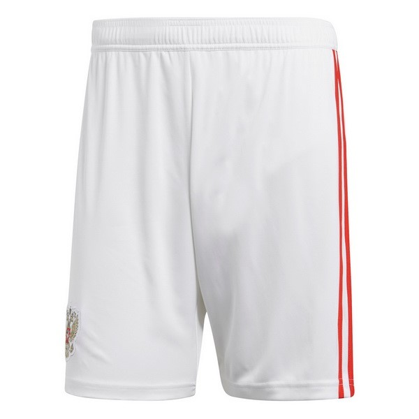 Magasin Foot adidas Domicile Shorts Russie 2018 Blanc