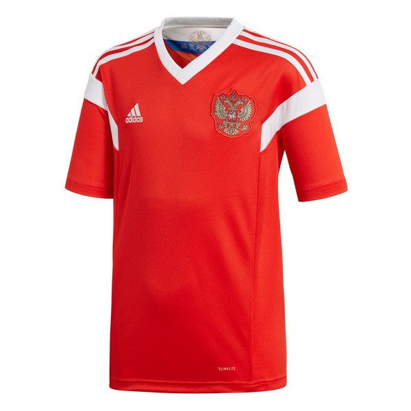 Magasin Foot adidas Thailande Domicile Maillots Russie 2018 Rouge