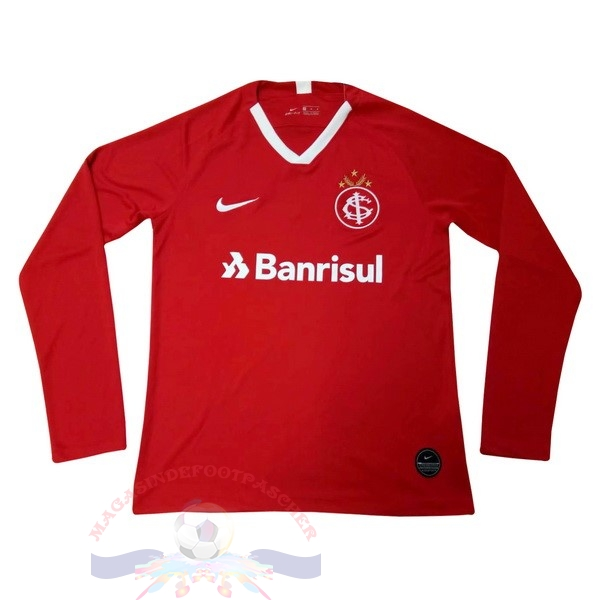 Magasin Foot Nike Domicile Manches Longues Internacional 2019 2020 Rouge