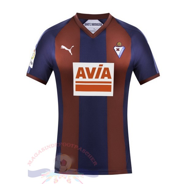 Magasin Foot Puma DomiChili Maillot Sd Eibar 2018 2019 Rouge Bleu