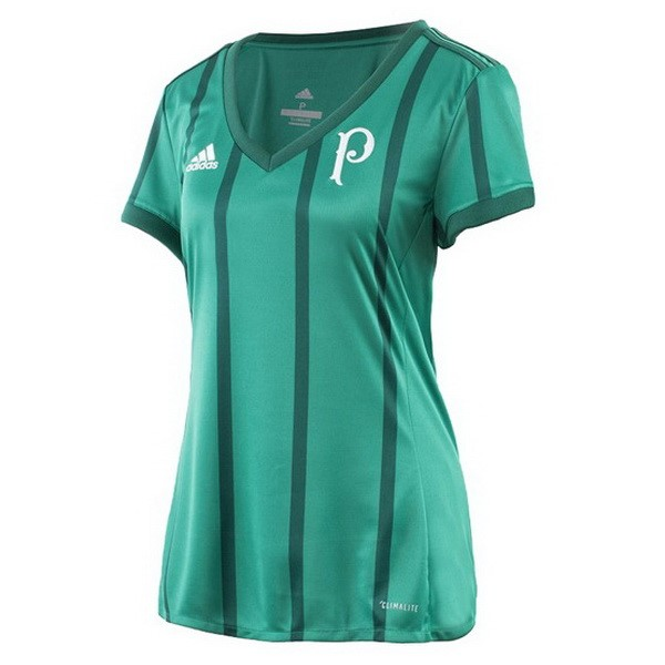 Magasin Foot adidas Domicile Femme Maillots Palmeiras 2017 2018 Vert