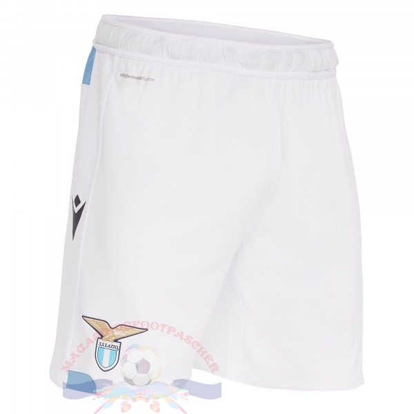 Magasin Foot Macron Domicile Pantalon Lazio 2019 2020 Blanc