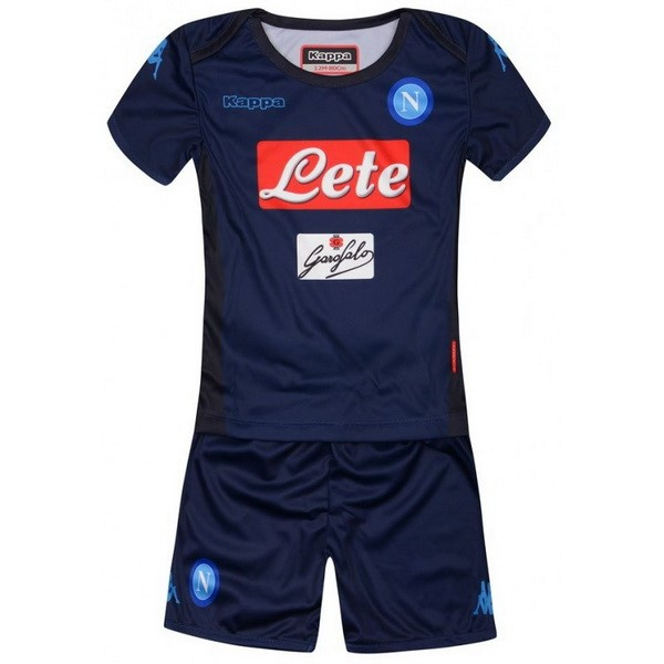 Magasin Foot Kappa Third Ensemble Enfant Naples 2017 2018 Bleu