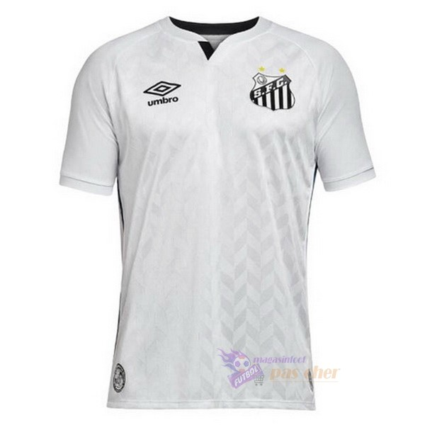 Magasin Foot umbro Domicile Maillot Santos 2020 2021 Blanc