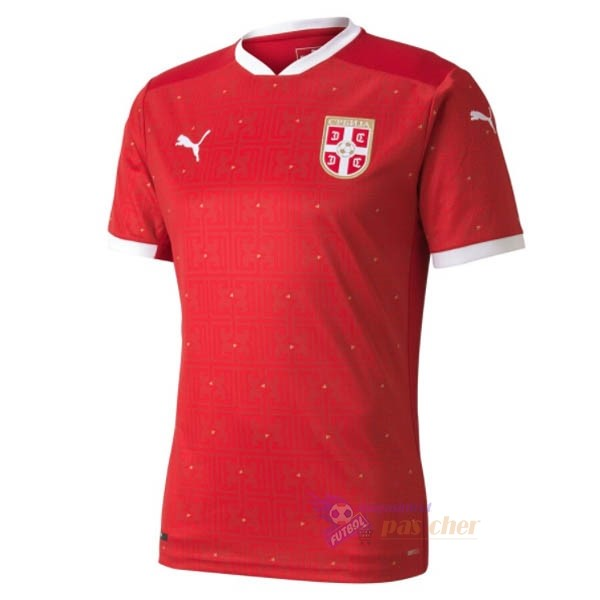 Magasin Foot PUMA Domicile Maillot Serbie 2020 Rouge